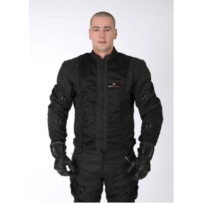 Pánska textilná bunda GPI - čierna 3