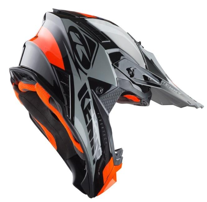 31aa3eca771e0 Prilba KENNY Trophy 2019 - čierno oranžová | MOTOMIX