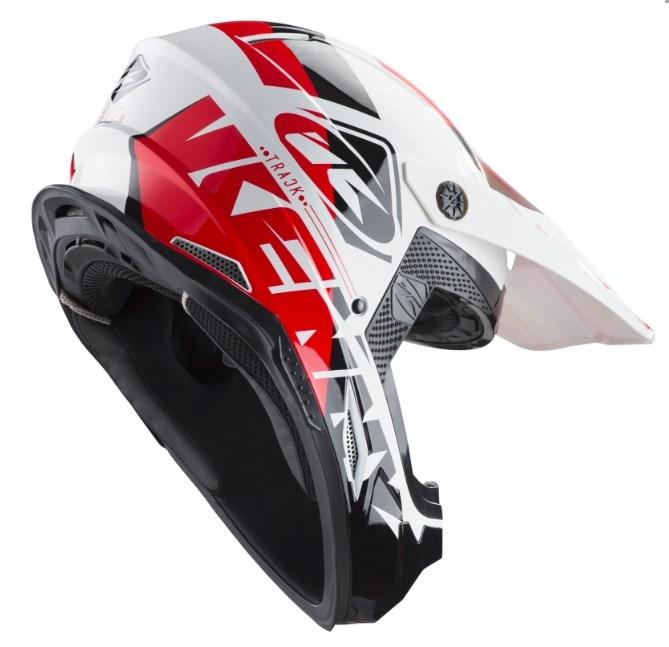 4c920fb9b049b Prilba KENNY Track 2019 - bielo čierno červená | MOTOMIX