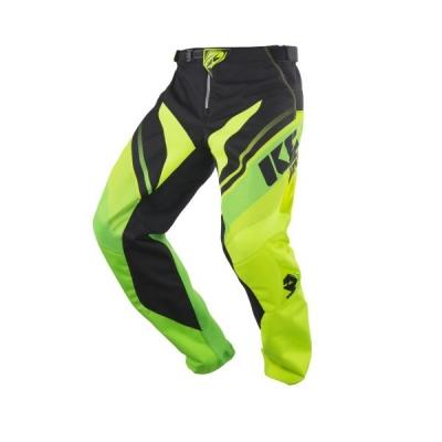 Nohavice Kenny Track 2018 zlta zelena neon