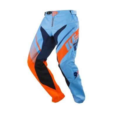 Nohavice Kenny Track 2018 detske modrá oranžova