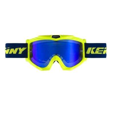 OKULIARE KENNY TRACK+ modrá žltá