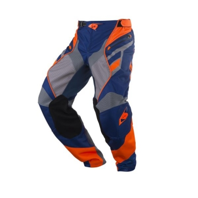 Nohavice Kenny Titanium 2018 modrá oranžová