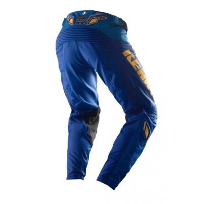 Nohavice KENNY Titanium 2019 - modro zlaté