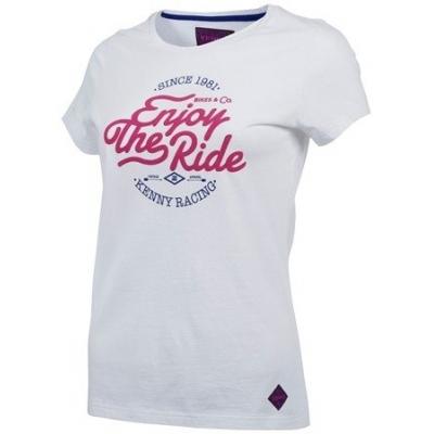 Tričko Kenny Enjoy dámske - bielo ružové