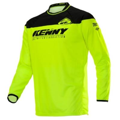 Dres Kenny Track Raw 2020 detský - neon žltá