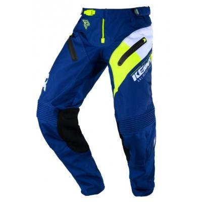 Nohavice Kenny Titanium 2020 - modrá neon žltá
