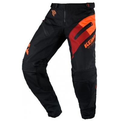 Nohavice Kenny Titanium 2020 - čierna oranžová