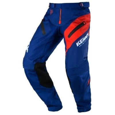 Nohavice Kenny Titanium 2020 - modrá červená
