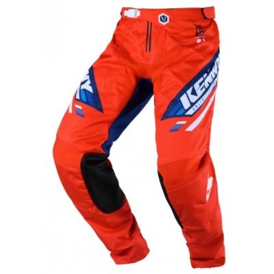 Nohavice Kenny Track Victory 2020 - červená modrá