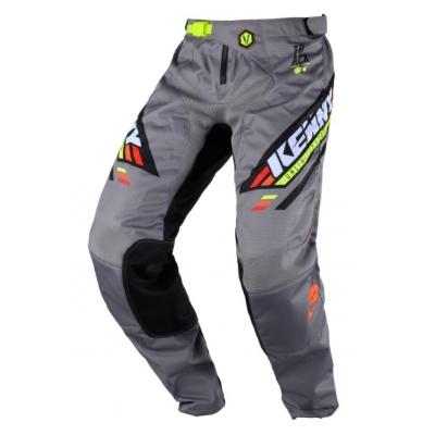 Nohavice Kenny Track Victory 2020 - čierna sivá