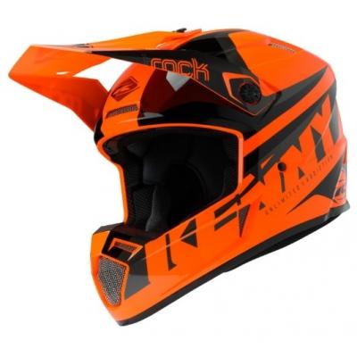Prilba KENNY Track Focus 2020 - neon oranžová