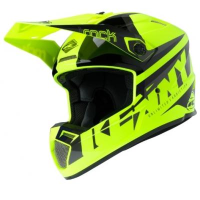 Prilba KENNY Track Focus 2020 - neon žltá