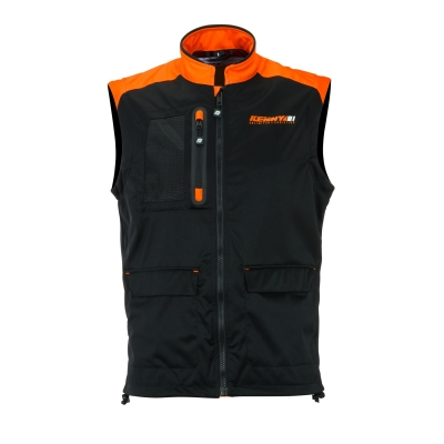 Vesta KENNY 2020 - čierna neon oranžová