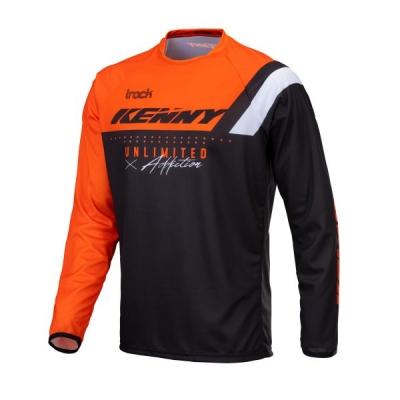 Detský dres KENNY TRACK 2021, neónovo oranžový