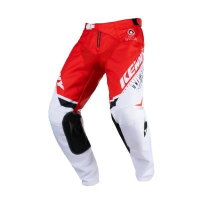 Nohavice KENNY TRACK 2021,červené