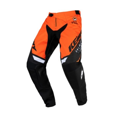Detské nohavice KENNY TRACK 2021,oranžové