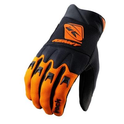 Detské rukavice KENNY TRACK 2021, čierno-oranžové