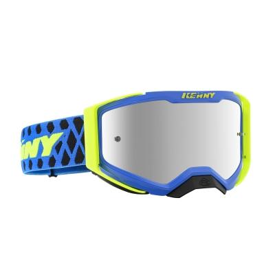 Okuliare KENNY Performance 2020 Level 2, modro-neónovo žlté