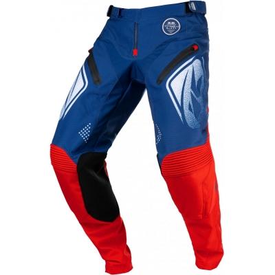 Nohavice KENNY TITANIUM 2021, modro-červené