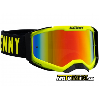 Okuliare KENNY Performance Level 2 Neon - Yellow 22