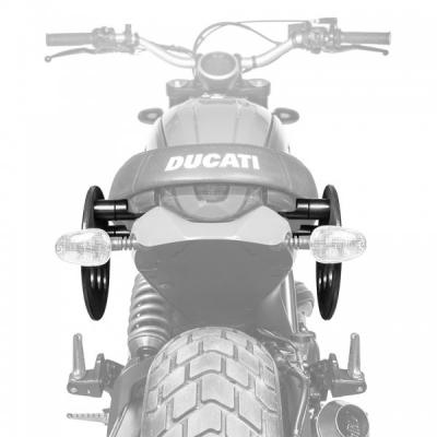 Platformy Kriega pre tašku na sedadlo - Ducati Scrambler duo