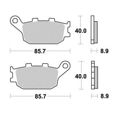 Brzdové doštičky KYOTO S1035