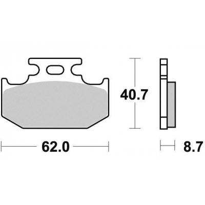 Brzdové doštičky KYOTO S1037A