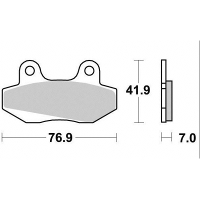 Brzdové doštičky KYOTO S1053
