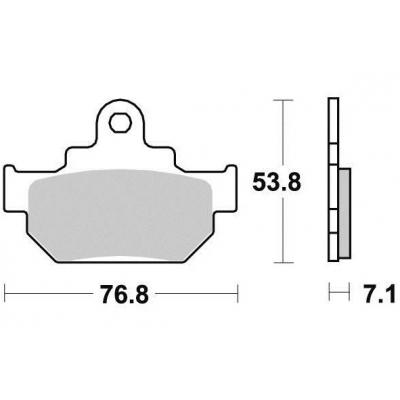 Brzdové doštičky KYOTO S1089