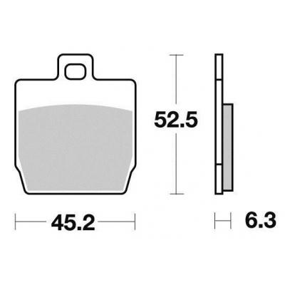 Brzdové doštičky KYOTO S1105