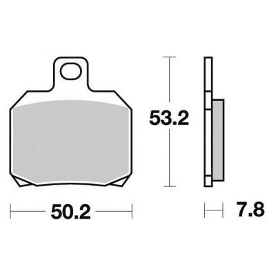 Brzdové doštičky KYOTO S1110