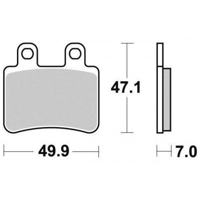 Brzdové doštičky KYOTO S1116