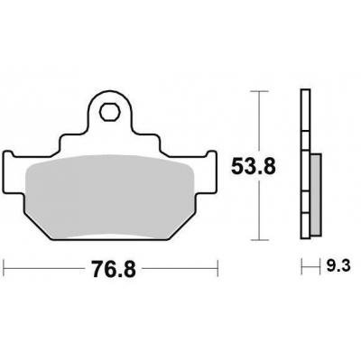 Brzdové doštičky KYOTO S1329A