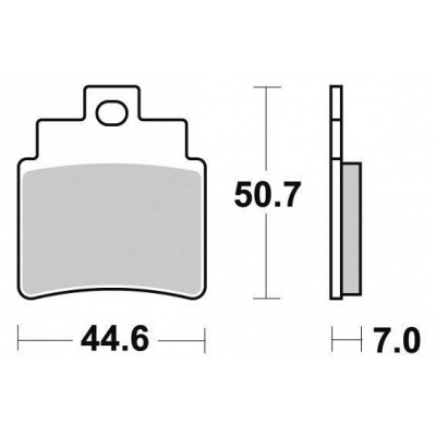 Brzdové doštičky KYOTO S1987