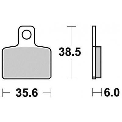 Brzdové doštičky KYOTO S9003N