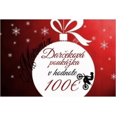 Vianočná poukážka na nákup v hodnote 100€