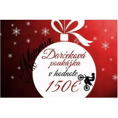 Vianočná poukážka na nákup v hodnote 150€