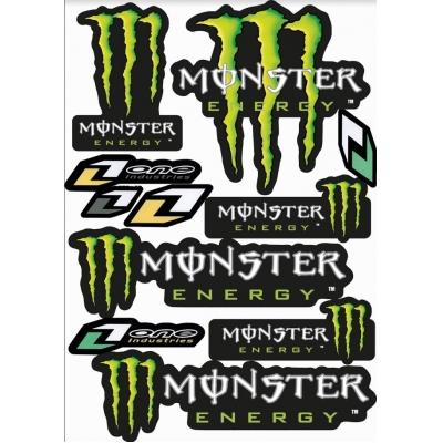 Nálepky Monster Energy
