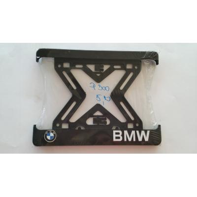 Podložka pod ŠPZ moto - 3D BMW