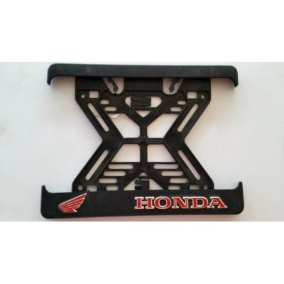 Podložka pod ŠPZ moto - 3D Honda