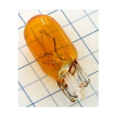 Žiarovka 12V 5W napichovacia oranžová