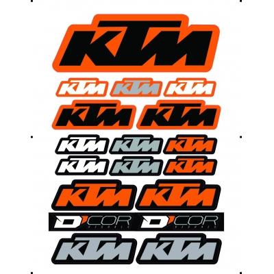 Nálepky KTM