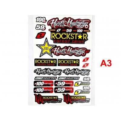 Nálepky Rockstar Energy