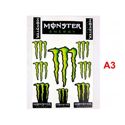 Nálepky Monster Energy 2