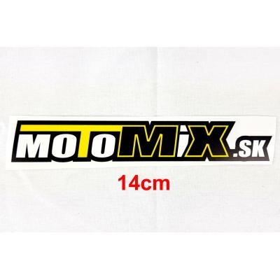 Nálepka Motomix.sk 14cm