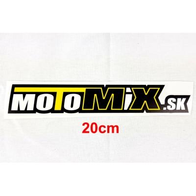 Nálepka Motomix.sk 20cm