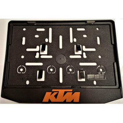 Podložka pod ŠPZ moto - 3D KTM