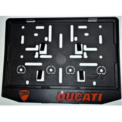 Podložka pod ŠPZ moto - 3D Ducati