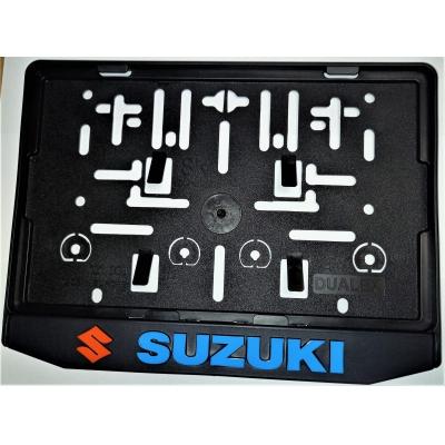 Podložka pod ŠPZ moto - 3D Suzuki